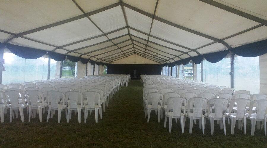 Draping Tent & Cinema Seat & Scallop